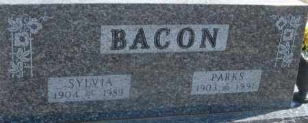 BACON, PARKS - Cedar County, Missouri | PARKS BACON - Missouri Gravestone Photos