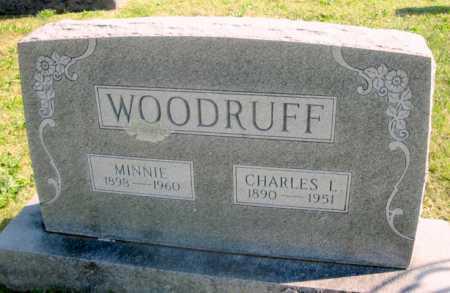 MATHEWS WOODRUFF, MINNIE - Cedar County, Missouri | MINNIE MATHEWS WOODRUFF - Missouri Gravestone Photos