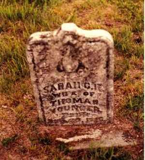YOUNGER, SARAH G. K. - Cedar County, Missouri | SARAH G. K. YOUNGER - Missouri Gravestone Photos