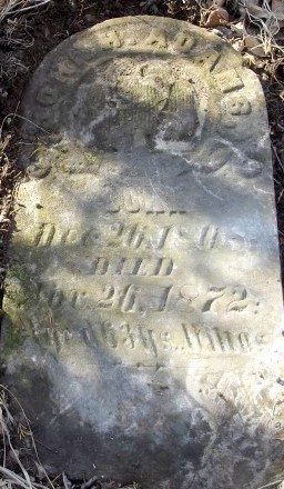 ADAMS, JOHN H - Chariton County, Missouri | JOHN H ADAMS - Missouri Gravestone Photos