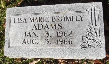 ADAMS, LISA MARIE BROMLEY - Chariton County, Missouri | LISA MARIE BROMLEY ADAMS - Missouri Gravestone Photos