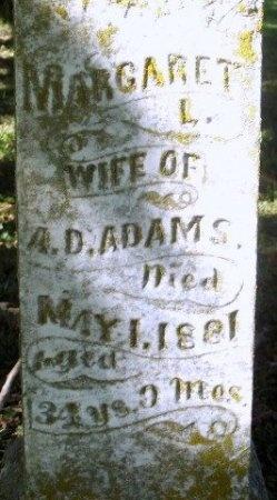 "ADAMS, MARGARET LAVINA ""MAGGY"" - Chariton County, Missouri   MARGARET LAVINA ""MAGGY"" ADAMS - Missouri Gravestone Photos"