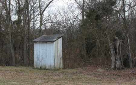 *, CEMETERY OUTHOUSE - Christian County, Missouri | CEMETERY OUTHOUSE * - Missouri Gravestone Photos