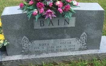 BAIN, OSCAR - Christian County, Missouri | OSCAR BAIN - Missouri Gravestone Photos