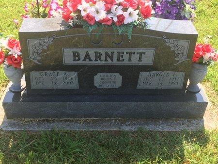 BARNETT, GRACIE ALICE - Christian County, Missouri | GRACIE ALICE BARNETT - Missouri Gravestone Photos