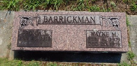 BARRICKMAN, FRONIA - Christian County, Missouri | FRONIA BARRICKMAN - Missouri Gravestone Photos