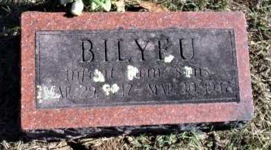 BILYEU, INFANT SON - Christian County, Missouri   INFANT SON BILYEU - Missouri Gravestone Photos