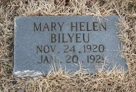 BILYEU, MARY HELEN - Christian County, Missouri | MARY HELEN BILYEU - Missouri Gravestone Photos