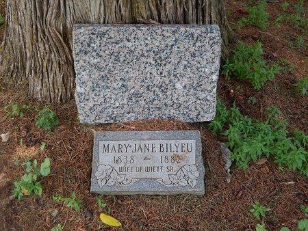 BILYEU, MARY JANE - Christian County, Missouri | MARY JANE BILYEU - Missouri Gravestone Photos