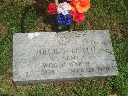 BILYEU, VIRGIL D (VETERAN WWII) - Christian County, Missouri | VIRGIL D (VETERAN WWII) BILYEU - Missouri Gravestone Photos