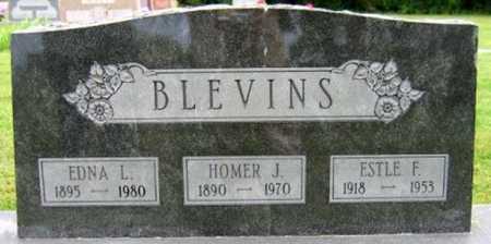 BLEVINS, ESTLE F - Christian County, Missouri | ESTLE F BLEVINS - Missouri Gravestone Photos