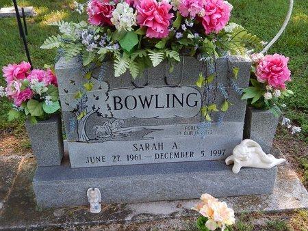 BOWLING, SARAH A - Christian County, Missouri | SARAH A BOWLING - Missouri Gravestone Photos