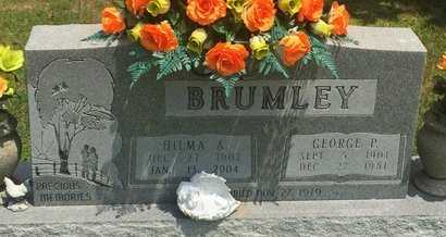 BRUMLEY, HILMA A - Christian County, Missouri   HILMA A BRUMLEY - Missouri Gravestone Photos