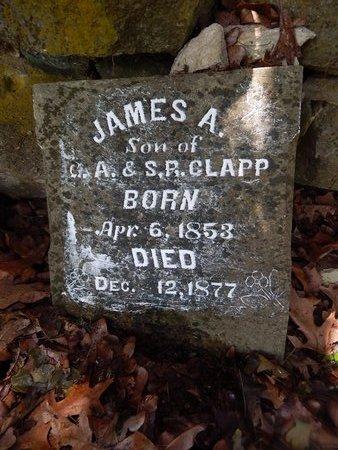 CLAPP, JAMES A - Christian County, Missouri | JAMES A CLAPP - Missouri Gravestone Photos