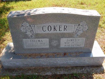 COKER, JAMES F - Christian County, Missouri | JAMES F COKER - Missouri Gravestone Photos