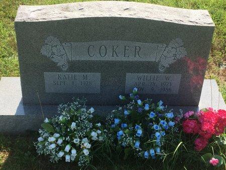 COKER, WILLIE W - Christian County, Missouri   WILLIE W COKER - Missouri Gravestone Photos