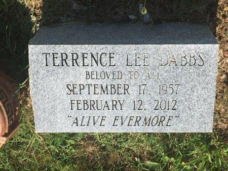 DABBS, TERRENCE LEE - Christian County, Missouri | TERRENCE LEE DABBS - Missouri Gravestone Photos