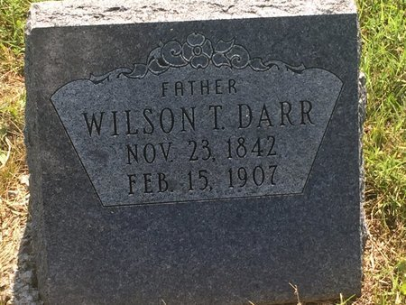 DARR, WILSON T - Christian County, Missouri | WILSON T DARR - Missouri Gravestone Photos