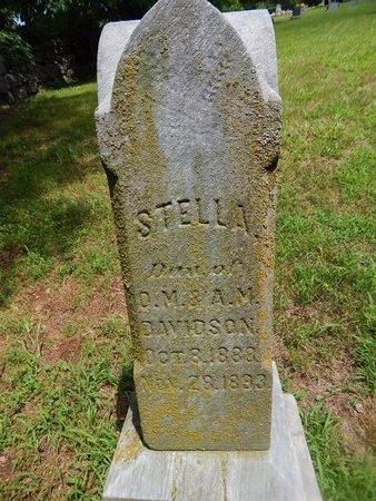 DAVIDSON, STELLA - Christian County, Missouri | STELLA DAVIDSON - Missouri Gravestone Photos