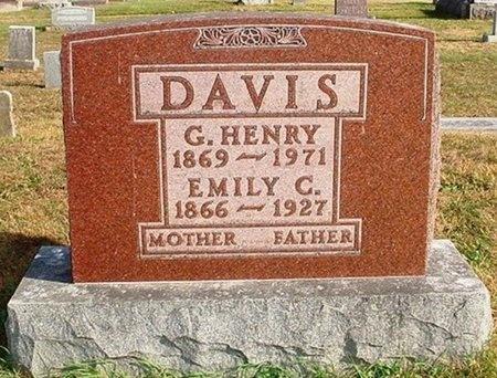 DAVIS, EMILY C. - Christian County, Missouri   EMILY C. DAVIS - Missouri Gravestone Photos