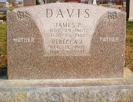 DAVIS, JAMES PLEASANT - Christian County, Missouri | JAMES PLEASANT DAVIS - Missouri Gravestone Photos