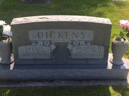 DICKENS, MILDRED H - Christian County, Missouri | MILDRED H DICKENS - Missouri Gravestone Photos