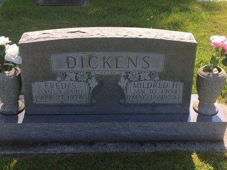 DICKENS, FRED S - Christian County, Missouri | FRED S DICKENS - Missouri Gravestone Photos