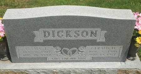 DICKSON, VELMA I - Christian County, Missouri | VELMA I DICKSON - Missouri Gravestone Photos