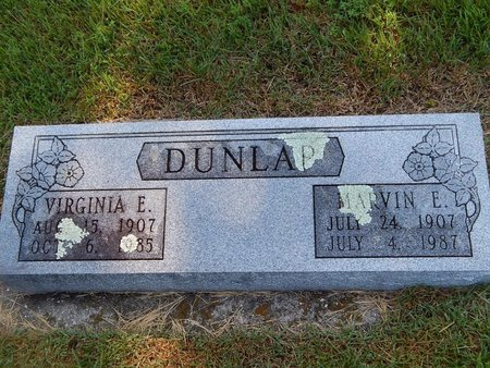 DUNLAP, MARVIN E - Christian County, Missouri | MARVIN E DUNLAP - Missouri Gravestone Photos