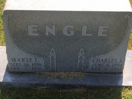 GARY ENGLE, MARIE L - Christian County, Missouri | MARIE L GARY ENGLE - Missouri Gravestone Photos