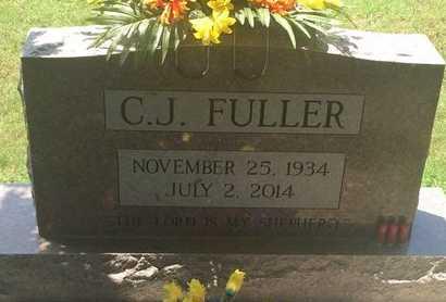 FULLER, C J - Christian County, Missouri | C J FULLER - Missouri Gravestone Photos