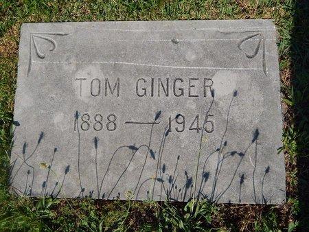 GINGER, TOM - Christian County, Missouri   TOM GINGER - Missouri Gravestone Photos