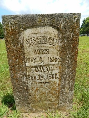 HANKS, NANCY - Christian County, Missouri | NANCY HANKS - Missouri Gravestone Photos