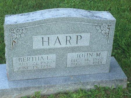 HARP, JOHN M - Christian County, Missouri | JOHN M HARP - Missouri Gravestone Photos