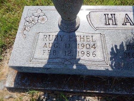 HARP, RUBY ETHEL (CLOSE-UP) - Christian County, Missouri   RUBY ETHEL (CLOSE-UP) HARP - Missouri Gravestone Photos