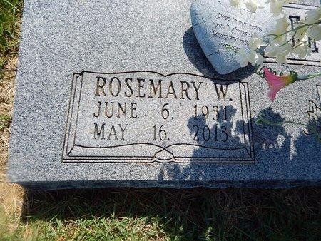 HARP, ROSEMARY W (CLOSE-UP) - Christian County, Missouri   ROSEMARY W (CLOSE-UP) HARP - Missouri Gravestone Photos
