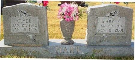 HART, MARY E. - Christian County, Missouri | MARY E. HART - Missouri Gravestone Photos