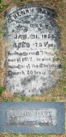 HART, HENRY JAMES (VETERAN 1812) - Christian County, Missouri | HENRY JAMES (VETERAN 1812) HART - Missouri Gravestone Photos