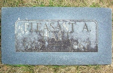HART, PLEASANT ALBERT - Christian County, Missouri   PLEASANT ALBERT HART - Missouri Gravestone Photos