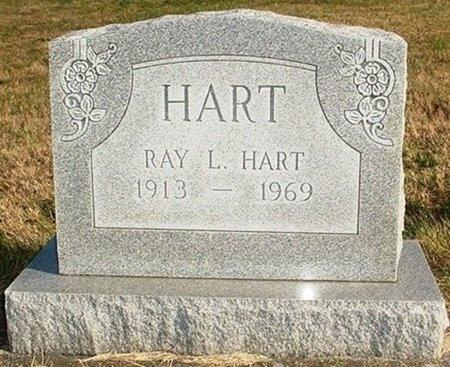 HART, RAY LAWRENCE - Christian County, Missouri   RAY LAWRENCE HART - Missouri Gravestone Photos