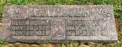 HARTHCOCK, VIRGINA LEE - Christian County, Missouri | VIRGINA LEE HARTHCOCK - Missouri Gravestone Photos