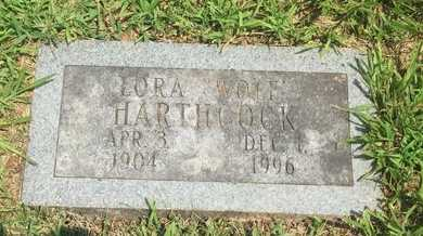 HARTHCOCK, LORA - Christian County, Missouri   LORA HARTHCOCK - Missouri Gravestone Photos