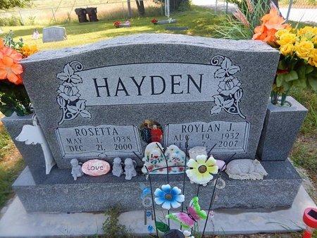 HAYDEN, ROSETTA - Christian County, Missouri | ROSETTA HAYDEN - Missouri Gravestone Photos