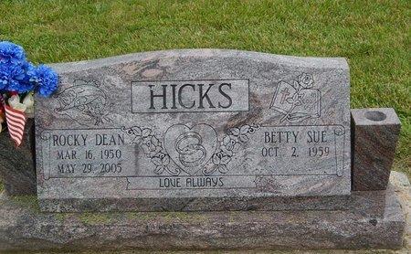 HICKS, ROCKY DEAN - Christian County, Missouri | ROCKY DEAN HICKS - Missouri Gravestone Photos