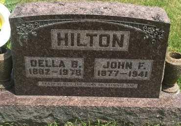 HILTON, JOHN F - Christian County, Missouri | JOHN F HILTON - Missouri Gravestone Photos