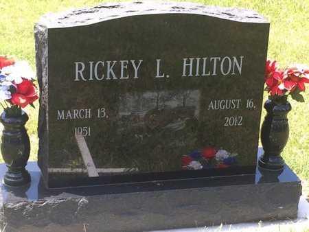 HILTON, RICKEY L - Christian County, Missouri | RICKEY L HILTON - Missouri Gravestone Photos