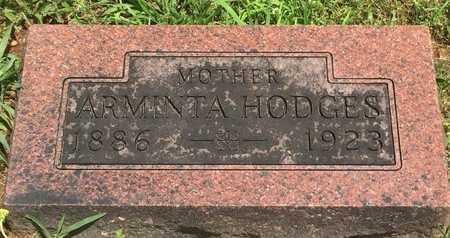 HODGES, ARMINTA - Christian County, Missouri   ARMINTA HODGES - Missouri Gravestone Photos