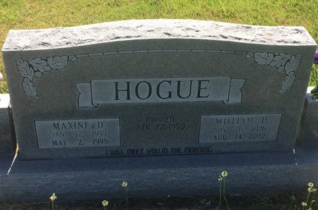 HOGUE, MAXINE DELORES - Christian County, Missouri | MAXINE DELORES HOGUE - Missouri Gravestone Photos