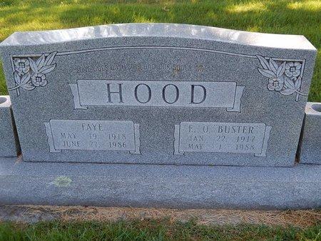 HOOD, FAYE - Christian County, Missouri | FAYE HOOD - Missouri Gravestone Photos