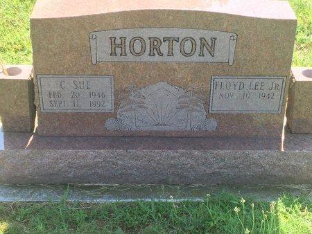HORTON, C SUE - Christian County, Missouri   C SUE HORTON - Missouri Gravestone Photos